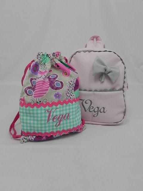Los conjuntos de mochila y bolsa de merienda nos los piden todo el año, estos artículos son de los llamados imprescindibles.   Hoy la mochi...