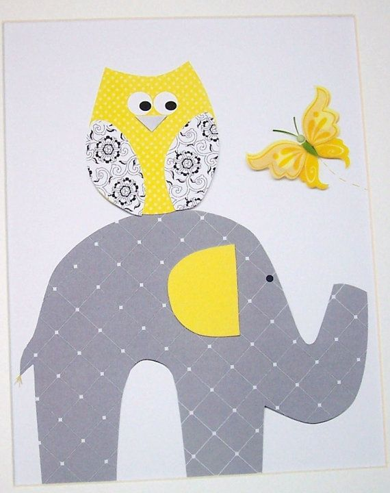81 best images about fabric applique elephant on for Childrens elephant fabric