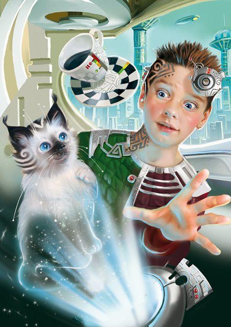 Illustration to the fantasy novel by Volikov.  Tatiana Doronina Art, Russia