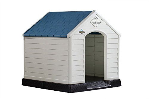I just used this last weekend  Confidence Pet XL Waterproof Plastic Dog Kennel Outdoor Winter House EXTRA LARGE follow this link click here http://bridgerguide.com/confidence-pet-xl-waterproof-plastic-dog-kennel-outdoor-winter-house-extra-large/ for much more detail about it. Thanks and please repin if you like it. :)