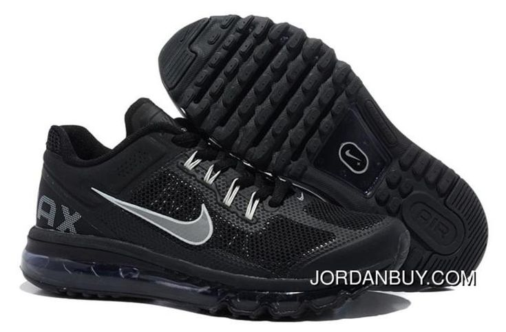http://www.jordanbuy.com/clearance-nike-air-max-2013-mens-shoes-black-shoes-online.html CLEARANCE NIKE AIR MAX 2013 MENS SHOES BLACK SHOES ONLINE Only $85.00 , Free Shipping!
