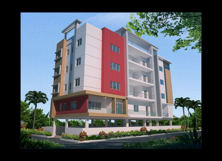 Apartment elevation design architectural design for Modern classic building design