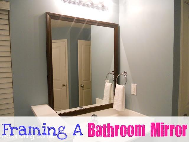 Bathroom Mirrors Framed best 20+ frame bathroom mirrors ideas on pinterest | framed