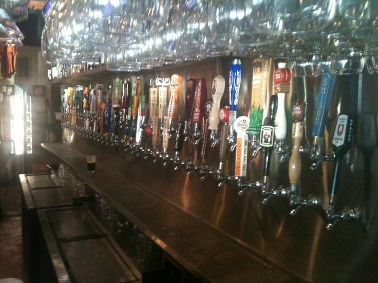 Abel's Lake Austin. 63 draft beers.