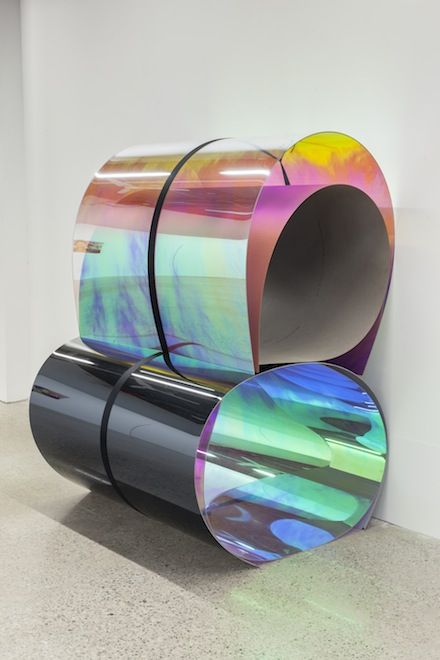 Untitled 27, 11:15 AM–2:30 PM, January 23, 2013 - Julia Dault #colour #installation