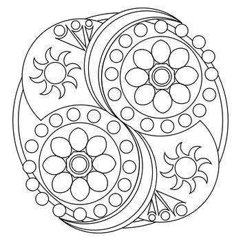 Mandala Art Template / Printable