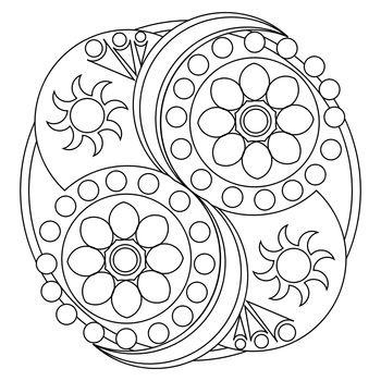Mandala Art Template / Printable