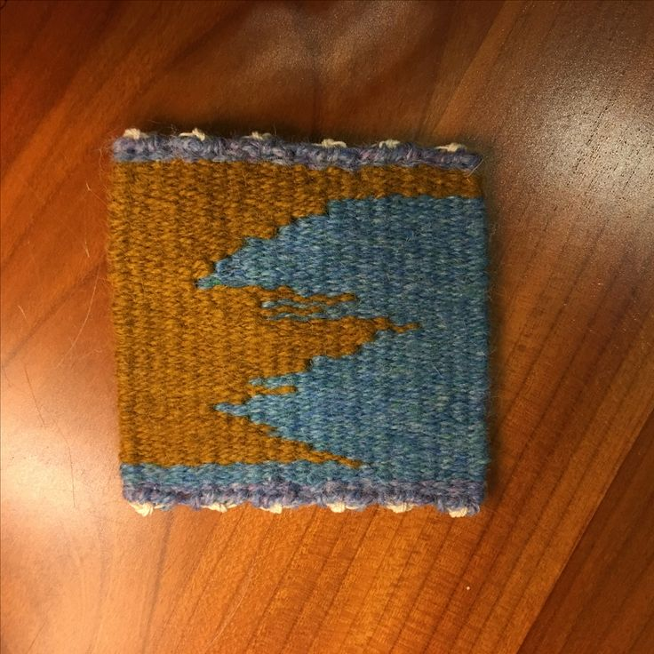 Valarie Keaton, Weaving Tapestry on Little Looms online class with Rebecca Mezoff