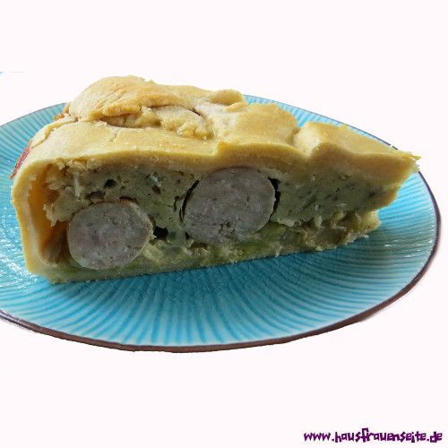Lauch-Bratwursttorte unsere Lauch-Bratwurst-Torte ist eine Bratwursttorte mit Lauch :)