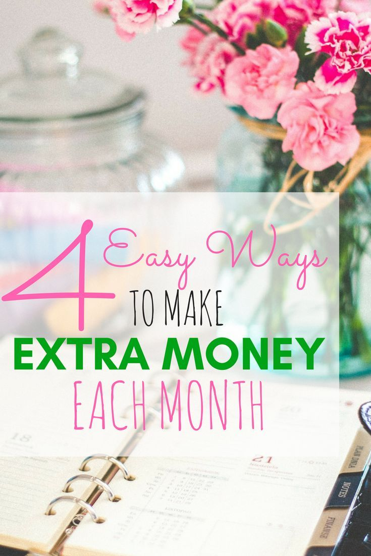 Click here to learn 4 easy ways to make extra money each month!