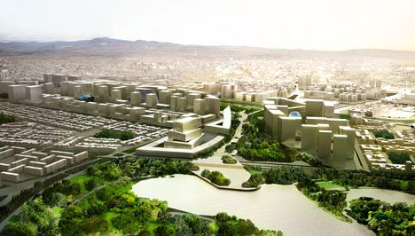 OMA to masterplan new civic centre in Colombia's capital