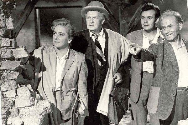 Nyugati övezet (Várkonyi Zoltán, 1952), Gobbi Hilda, Somlay Artúr, Szirtes Ádám