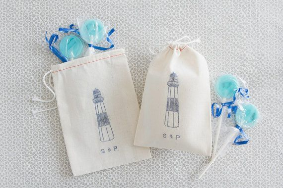 Lighthouse Wedding Favors Beach Wedding by becollective on Etsy, $14.00