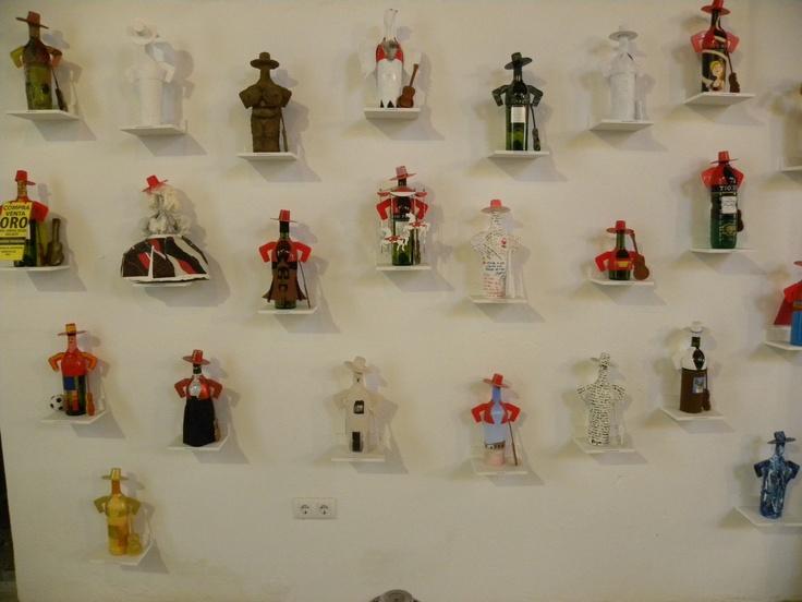 Coleccion de Arte Emergente de Tio Pepe por los alumnos de la Facultad de Bellas Artes de la Universidad Complutense de Madrid.