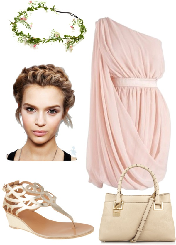 """This is EXACTLY what I want for my bridesmaids. (almost) """"Ancient Rome"""" by serephinarose ❤ liked on Polyvore"""