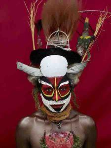 Tribal Face paint, Brazil