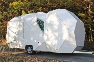An Austrian firm has designed this unusual caravan