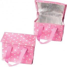 Pink Polka Dot Lunch Cool Bag £4.95