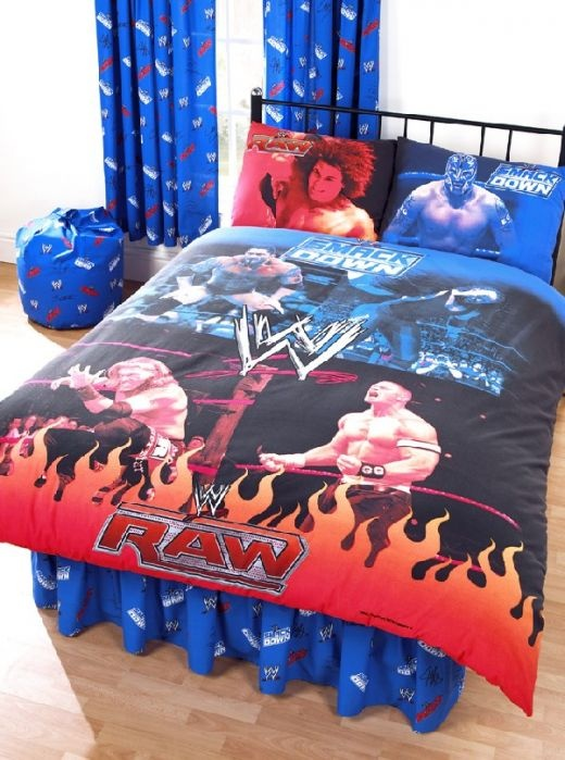 WWE Bedroom