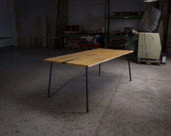 TEAK DINING TABLE: Large Teak Dining Table by HardmanDesignBuild