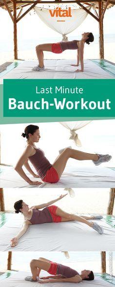 In kurzer Zeit zum durchtrainierten Bauch: Mit unserem leichten Workout schafft ihr es noch vor dem Urlaub zum Sixpack.