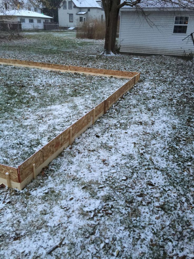 My 20x40 DIY Ice Rink for less than $150 (With images ...