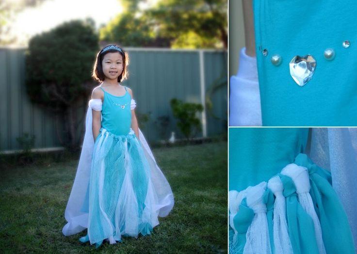 dguisement halloween pour enfant fabriquer soi mme dguisement inspir du film la reine des neiges