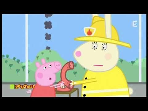 Peppa Pig - Le camion de pompier - YouTube