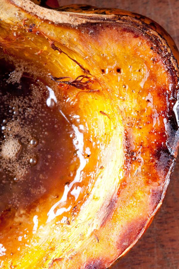 Baked Acorn Squash With Brown Sugar If Acorn Squash Isn T