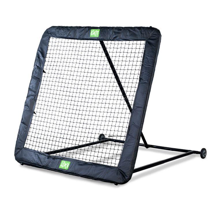 Exit Kickback koon XL rebounder on jättikokoinen (164×164cm) palautuseinä jalkapalloon ja muihinkin pallolajeihin  Tutustu seinään: http://goo.gl/dyi5P6