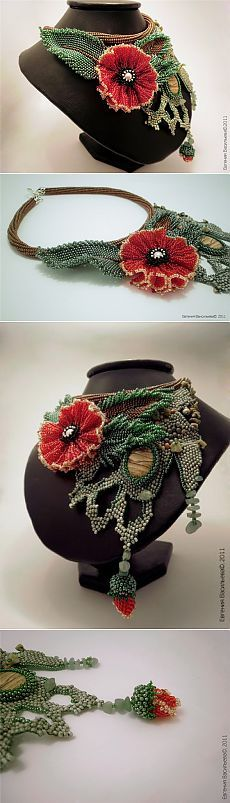 Аленький цветочек | biser.info - всё о бисере и бисерном творчестве