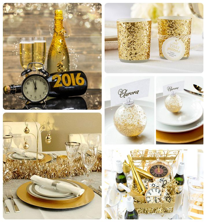Ideas para decorar nuestra mesa de fin de a o en colores - Decoracion fin de ano ...