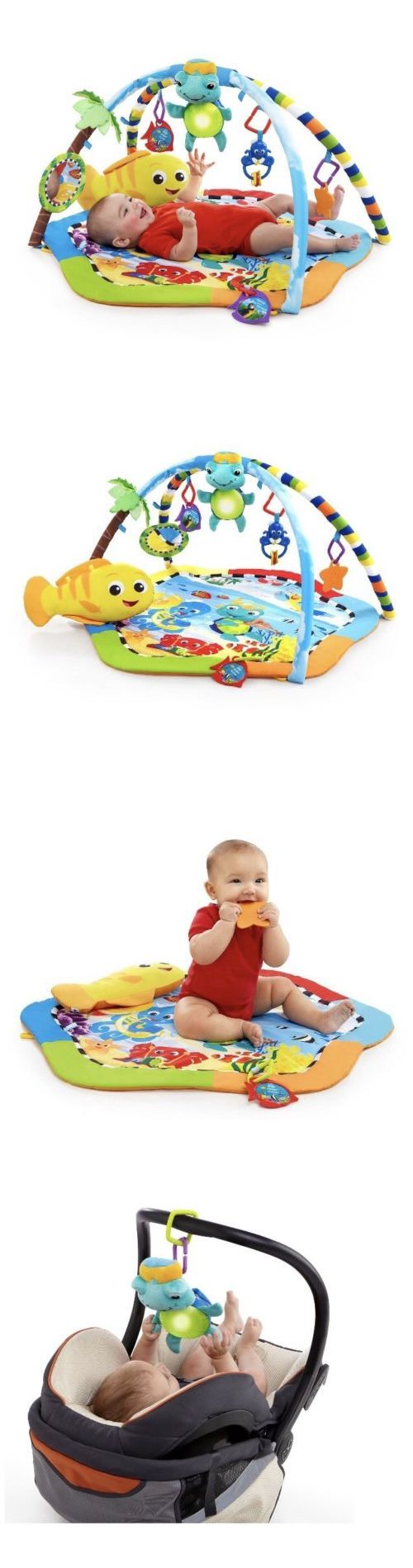 Baby Gyms and Play Mats 19069: Nip Baby Einstein Play Gym Rhythm Of The Reef Activity Mat Neptune The Turtle -> BUY IT NOW ONLY: $45 on eBay!