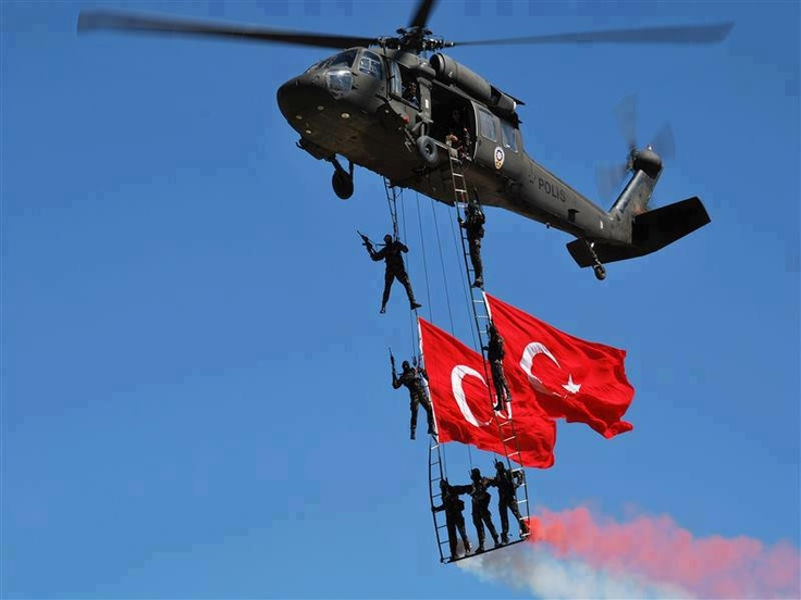 so Turkish Police Spec Ops Unit in the air with helicopter-Thanks to our fan Hakan Ogun