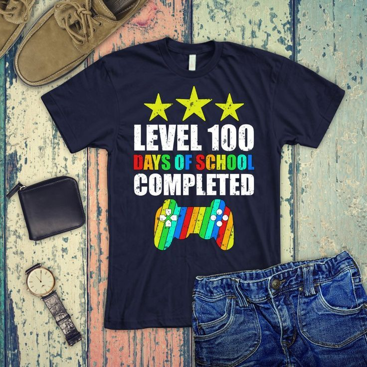 Level 100 Days Of School Completed Shirt 100 Days Of School T