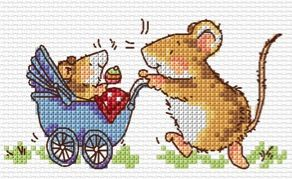 http://www.margaretsherrykits.co.uk: Baby mouse NEW! chart to download - £3.50.More than 20 charts available for instant download