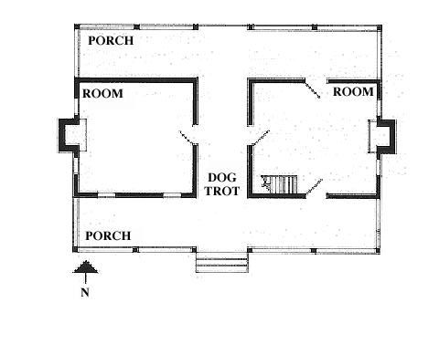 Dogtrot style dog trot dwellings dogtrot house idea 39 s for House plans dog trot style