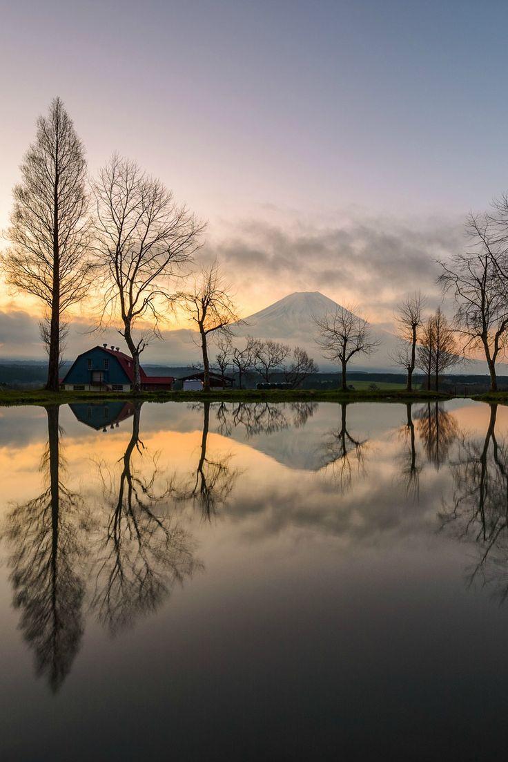 sundxwn:  Dawn reflectionby Hidetoshi Kikuchi