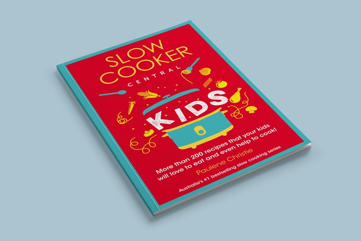 Enter now to WIN! Your recipe could be featured in the new SLOW COOKER CENTRAL book!  We're super excited to be launching the competition for entry in our new book SLOW COOKER CENTRAL: KIDS. In a recent Facebook poll, you told us overwhelmingly that you wanted a book packed with recipes that your kids would love. We agree!