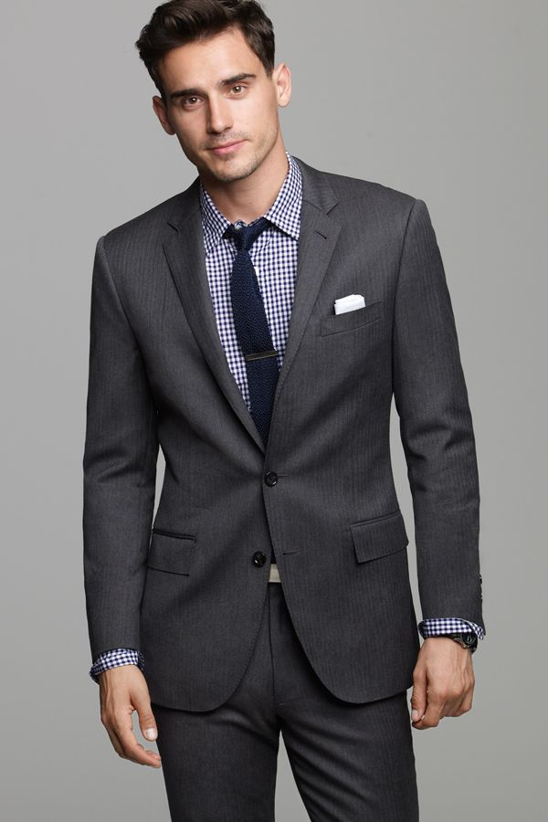 For those times when only a suit and tie will cut it for dress code, visit our suit shop. You can choose from complete two- or three-piece suit sets that include all the necessary components, such as a jacket and trousers, or you can shop for separates to put together your own look for any occasion.