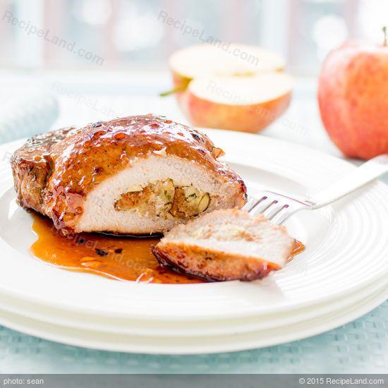 Apple stuffed pork chop recipes baked