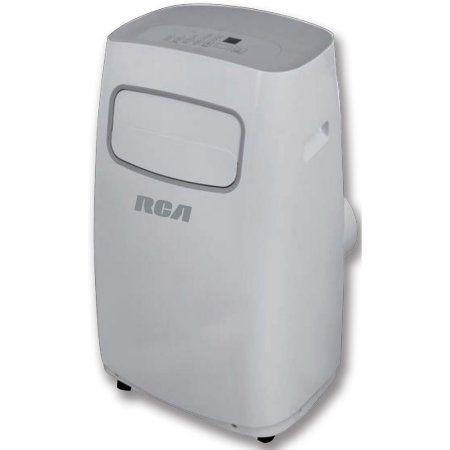 RCA 3-in-1 Portable 10,000 BTU Air Conditioner with Remote Control, Gray