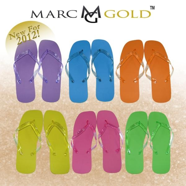 Marc Gold - Ladies Flip Flop 6- New for 2012 kick your up your heels or off haha just keep the party going