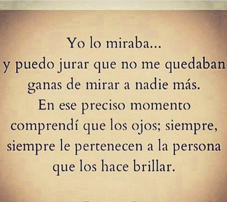 """""""Tal vez yo no sepa a donde ir . Pero si pudiera una mañana abrir los ojos y ver los tuyos, sabría donde quedarme."""" #irelaperea #poetisaloca"""