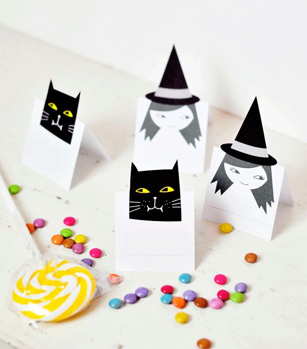 7 best Helloween images on Pinterest Printable, Autumn and Fall - easy homemade halloween decorations for kids