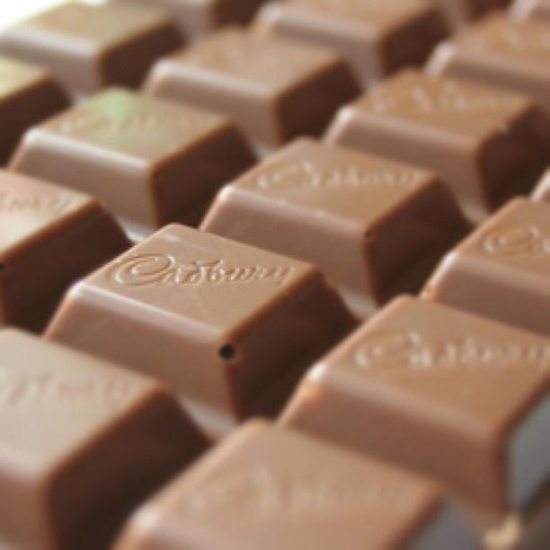 Cadburys chocolate!!