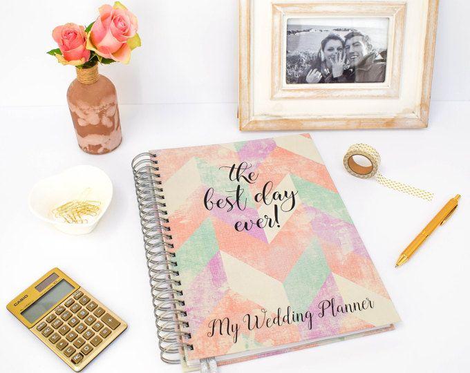 Keepsake Wedding Planner Book - Bridal Organiser - Engagement Gift - Bride to Be Present - Wedding Planner Book - Perfect Bridal Shower Gift