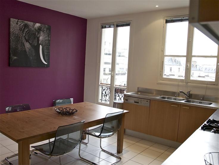 Id e couleur peinture pour la cuisine d co pinterest - Idee deco cuisine peinture ...
