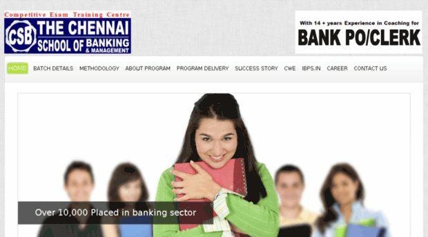 Chennai School Banking Offers Intensive Coaching For Bank Exams And Enable Students Get Jobs In Nationalized Banks.
