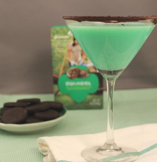 Thin Mint Martini: Girl Scout Cookie-Inspired Cocktail
